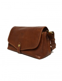Il Bisonte walnut cross body leather bag price
