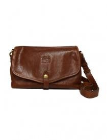 Il Bisonte walnut cross body leather bag A2468-PO-566