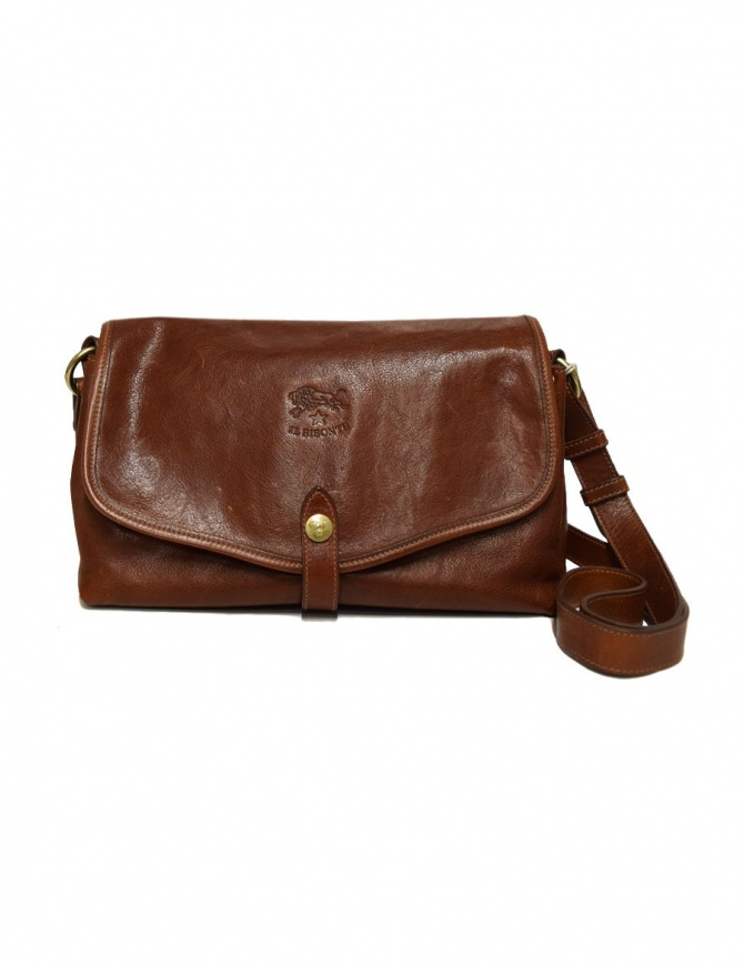 Il Bisonte walnut cross body leather bag A2468-PO-566 bags online shopping