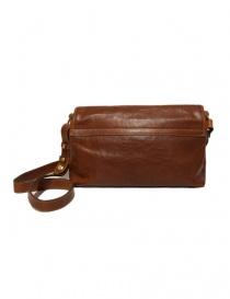 Il Bisonte walnut cross body leather bag buy online