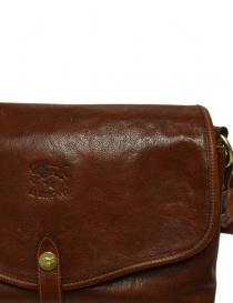 Borsa tracolla in pelle Il Bisonte colore noce borse acquista online
