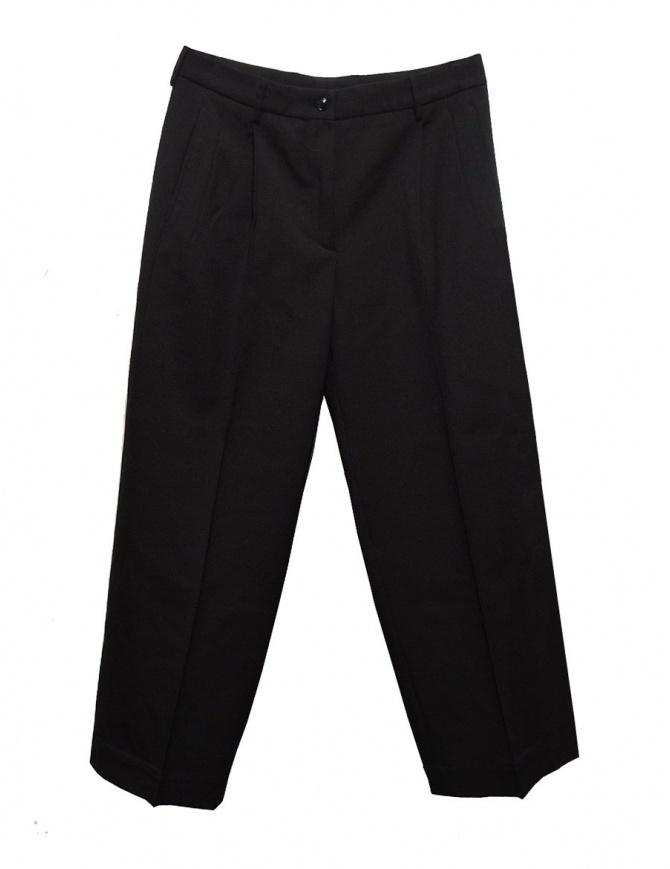 Cellar Door Iris black trousers 34IDIRIS-B186-COL-99 womens trousers online shopping