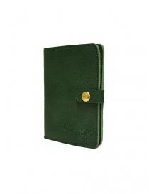 Portafoglio in pelle Il Bisonte colore verde con chiusura a bottone acquista online