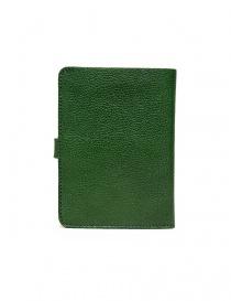 Portafoglio in pelle Il Bisonte colore verde con chiusura a bottone prezzo
