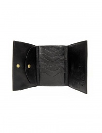 Il Bisonte black leather wallet with elastic band closure wallets buy online