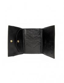 Portafoglio in pelle Il Bisonte colore nero con chiusura a fascia elastica portafogli acquista online