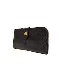 Il Bisonte Alida black leather wallet buy online