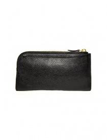 Il Bisonte Alida black leather wallet price