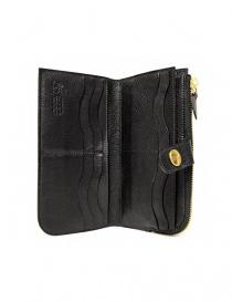 Il Bisonte Alida black leather wallet wallets buy online