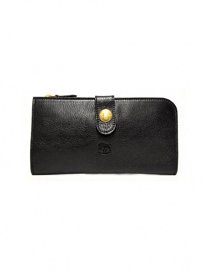 Portafoglio in pelle Il Bisonte modello Alida colore nero C0782-MP-153-NERO portafogli online shopping