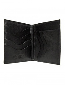 Il Bisonte black leather classic wallet wallets buy online