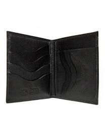 Portafoglio in pelle classico Il Bisonte colore nero portafogli acquista online