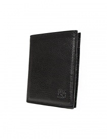 Il Bisonte black leather classic wallet