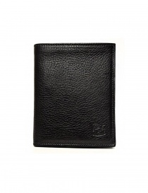Wallets online: Il Bisonte black leather classic wallet