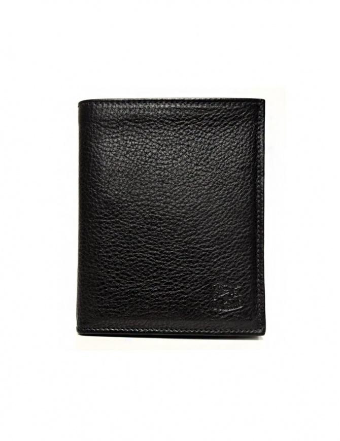 Portafoglio in pelle classico Il Bisonte colore nero C0591-P-153-NERO portafogli online shopping