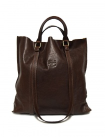 Il Bisonte brown leather bag A2185-PO-567-T-MORO order online