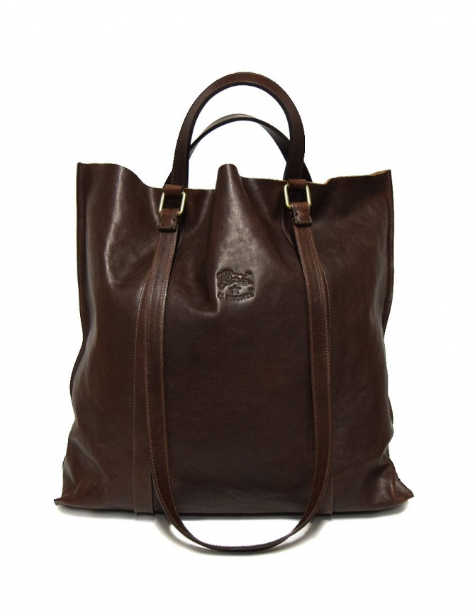 Borsa in pelle Il Bisonte colore testa moro A2185-PO-567-T-MORO borse online shopping