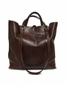 Il Bisonte brown leather bag