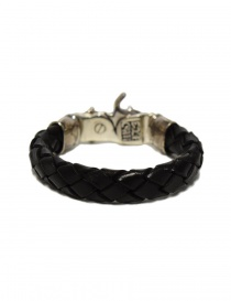 Elf Craft Tongslock silver and leather bracelet