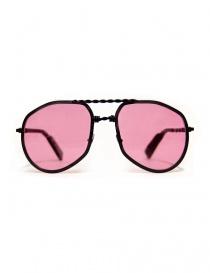 Paul Easterlin Eastwood matte black sunglasses EASTWOOD-BLACK-MATT-RED-L order online