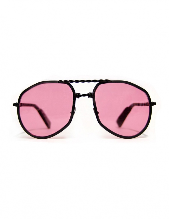 Occhiale Paul Easterlin nero opaco modello Eastwood EASTWOOD-BLACK-MATT-RED-L occhiali online shopping