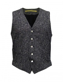 Gilet uomo online: Gilet D by D*Syoukei colore melange