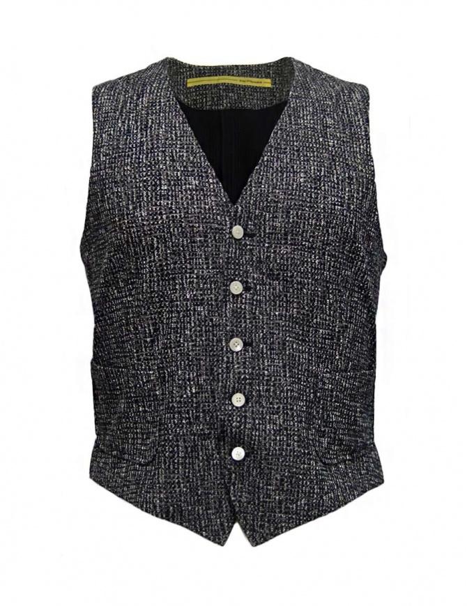 D by D*Syoukei melange vest D08-125-81LZ01 mens vests online shopping