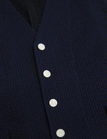 Gilet D by D*Syoukei colore blu e nero prezzo