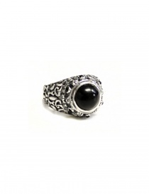 Anello Elf Craft Ring Garden con pietra nera 800-330-27