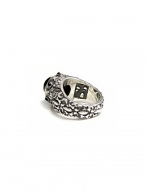 Anello Elf Craft Ring Garden con pietra nera
