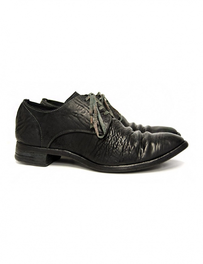 Carol Christian Poell black leather shoes AM/2600 CUL-PTC/010 mens shoes online shopping