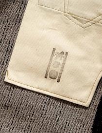 Jeans Kapital Kap-71 marroni e blu jeans uomo acquista online