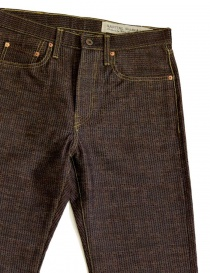Kapital Kap-71 brown and blue jeans