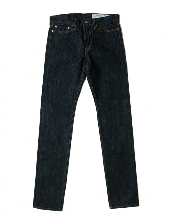 Jeans Kapital blu scuro regular fit JEANS SLP011N KAPITAL jeans uomo online shopping
