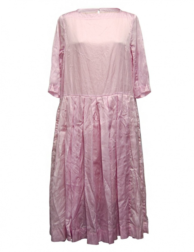 Abito Casey Casey organza colore rosa 09FR172-ORGANZA-PINK abiti donna online shopping