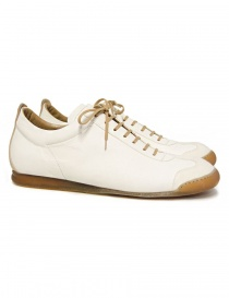Shoto Melody cream leather shoes online