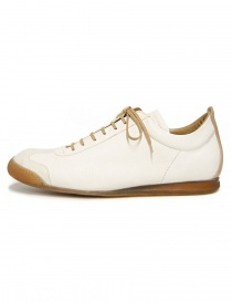 Shoto Melody cream leather shoes
