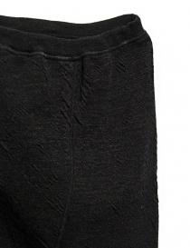 Pantalone Deepti nero lavorato a mano prezzo