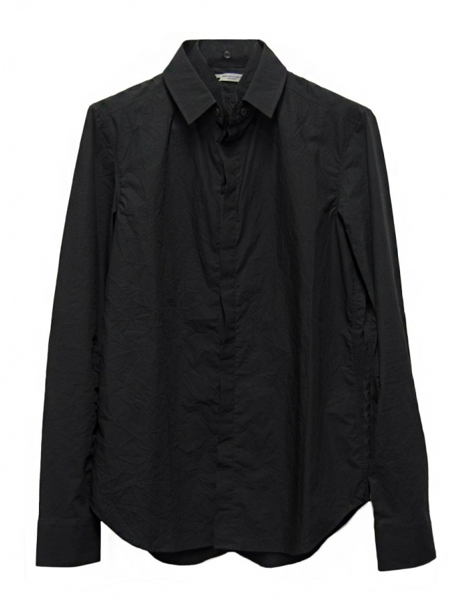 Camicia Deepti colore nero S-055-CRASH-99-SHIRT camicie uomo online shopping