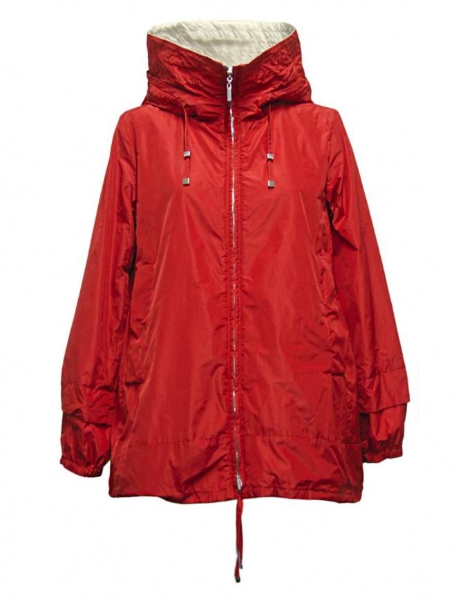 'S Max Mara Lighti red parka LIGHTI-013-ROSSO womens jackets online shopping