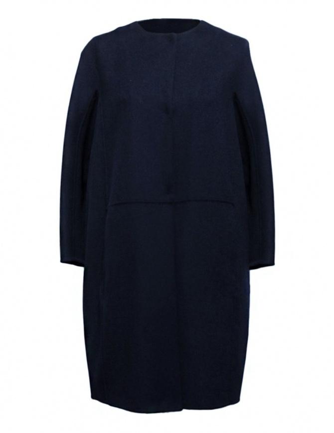 Cappotto 'S Max Mara Unito colore blu notte UNITO-012-BLU-NOTTE cappotti donna online shopping
