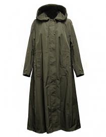 'S Max Mara Cottonp khaki green parka COTTONP-008-VERDE-KA order online
