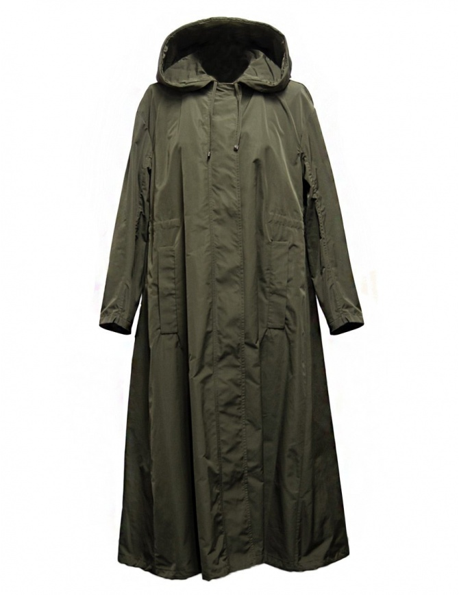 Parka 'S Max Mara Cottonp colore verde kaki COTTONP-008-VERDE-KA giubbini donna online shopping