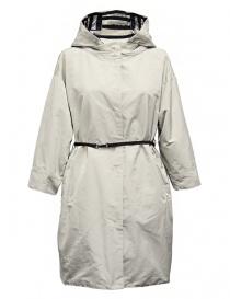 Womens jackets online: 'S Max Mara Failler ivory white parka
