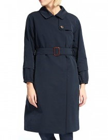 'S Max Mara Faillet midnight blue trench price