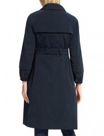 Trench 'S Max Mara Faillet colore blu notte cappotti donna prezzo