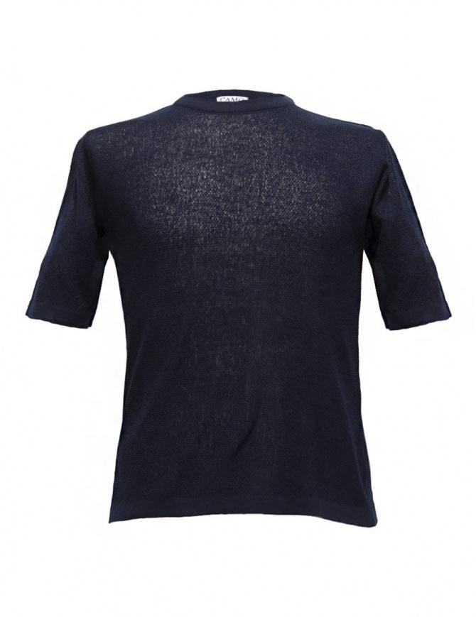 Camo Feystongal navy t-shirt AC0100-KNIT-T-SHIRT mens t shirts online shopping