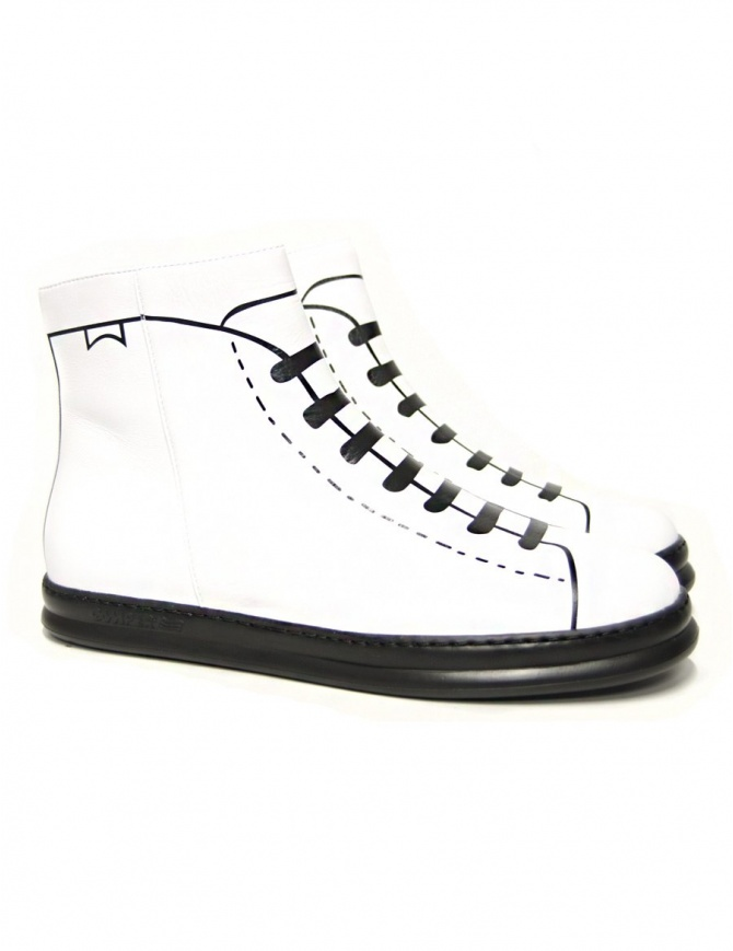 Sneakers Camper Lab Twins da uomo colore bianco K300210-001-DYNASTY calzature uomo online shopping