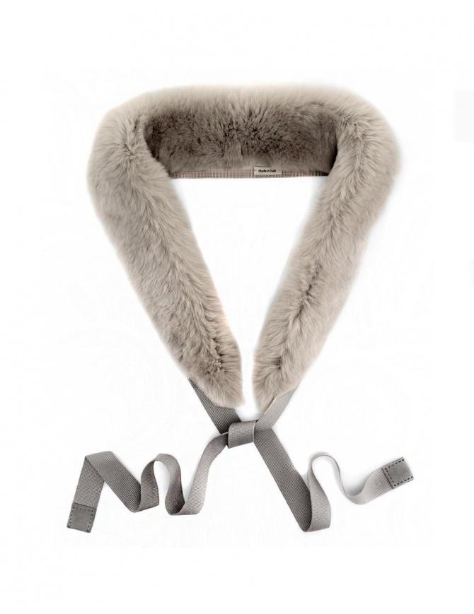 Collo 'S Max Mara Lipsia colore grigio LIPSIA-010-GRIGIO-CH sciarpe online shopping
