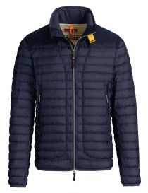 Mens jackets online: Parajumpers Arthur navy blue down jacket